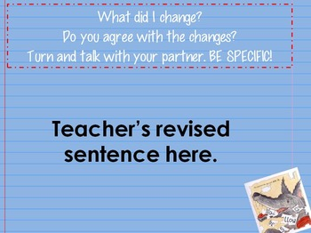 Winston the Book Wolf Interactive Mentor Sentence PowerPoint