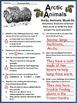 Winter Reading Activities: Arctic Animals Winter Activity Packet