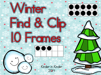 Winter 10 Frames Find and Clip