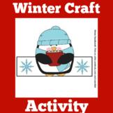 Winter Craft | Preschool Kindergarten 1st Grade | Penguin