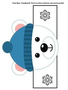 Polar Bears Craft | Polar Bear Activity | Polar Bear Craftivity