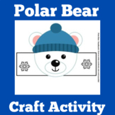 Polar Bears | Craft Activity | Preschool Kindergarten 1st