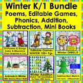 Winter {BUNDLE VALUE} Winter Activities For K/1 #BundleUpWithTpT