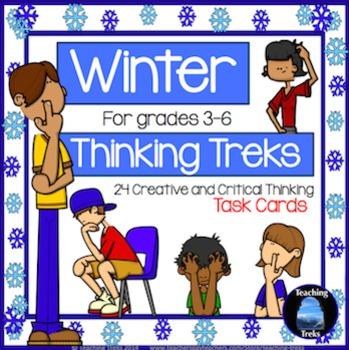 Winter Activities: Thinking Task Cards