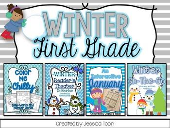 Winter 1st Grade Bundle