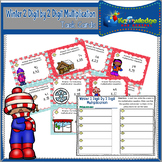 Winter 2 Digit By 2 Digit Multiplication Task Cards With Response Sheet