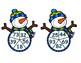 Winter 2 Digit Multiplication Spinner Game