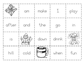 Winter #2 Making Sentences