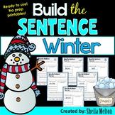 Winter Build the Sentence