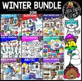 Winter 2018 Clip Art Bundle