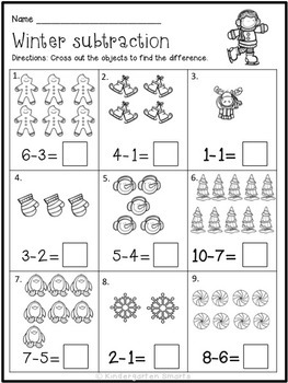 Winter Worksheets