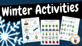 Winter - 22 Activities for math and language