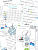 Winter Words,  Learning Cube and Graphing Activities, January Activities