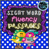 Sight Words Fluency Passages | Winter Sight Words