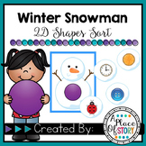 Winter 2D Shape Sorting