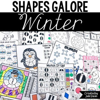 Winter Activities | 2D Shapes and Games