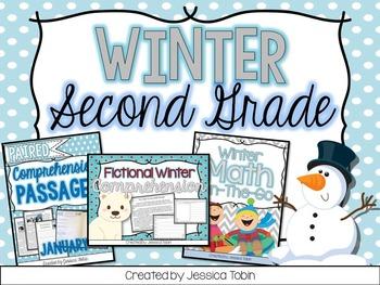 Winter Activities 2nd Grade Bundle