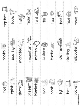 Winter 3D Speech Therapy Crafts {articulation language craftivities}