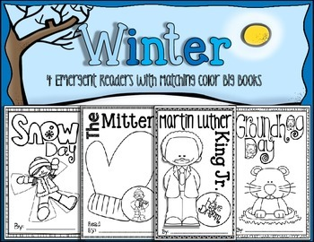 Winter {4 Emergent Readers and Matching Big Books}