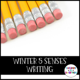 Winter 5 Senses Writing