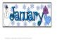 Winter ABBC Pattern Calendar- Pieces