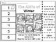 Winter ABC Order Cut & Paste Worksheets- Alphabetical Order No Prep Printables