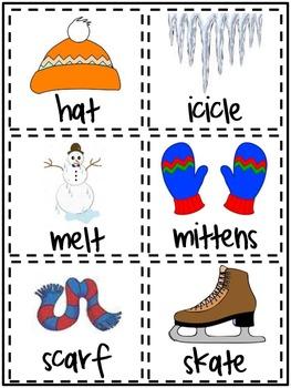Winter ABC Order Game (Freebie!)