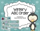 Winter ABC Order {Literacy Center}