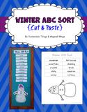 Winter ABC Sort {cut & paste}