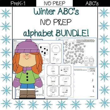 Winter ABC - alphabet bundle!
