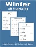 Winter (ASL Fingerspelling)