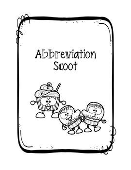 Winter Abbreviations Scoot