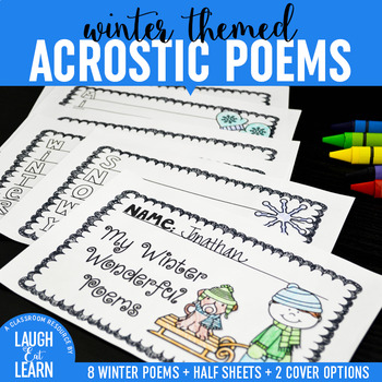 Winter Acrostic Poems