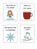 Winter Action Cards
