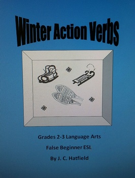 Winter Action Verbs