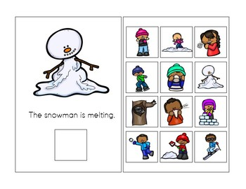 Winter Actions and Winter Clothing Interactive Books