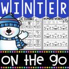 Winter Activities for Kindergarten {Math and Literacy No Prep Printables}