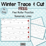 Trace and Cut Winter  Free