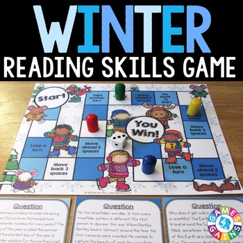 Winter Activities: A Winter Reading Game