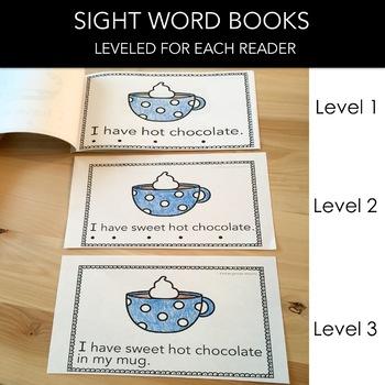 Winter Sight Word Book