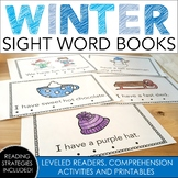 Winter Sight Word Books