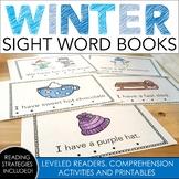 Winter Sight Word Books
