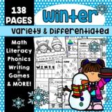 Winter Activities Kindergarten