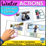 Winter Activities   Speech Therapy   Core Vocabulary Focus