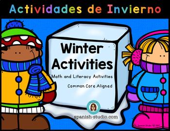 Winter Activities/ Actividades de Invierno (Spanish). NO PREP