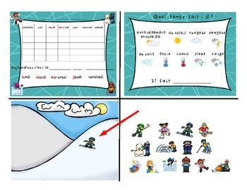 Winter Fun Activities / Activités d'hiver FRENCH SmartNotebook Activities