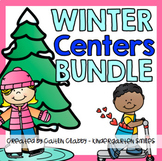 Winter Activities BUNDLE (Math and Literacy Centers)