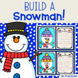 Winter Activities: Build a Snowman Craft and Writing Page