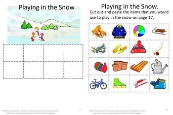 Winter Activities Bundles,Winter Math Centers,Winter Literacy Centers,Special Ed