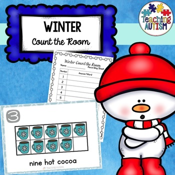 Winter Activities - Count the Room